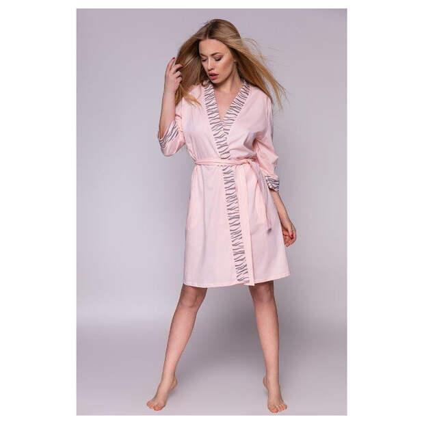 Обязательный предмет в домашнем гардеробе каждой женщины – модный и стильный трикотажный халатик