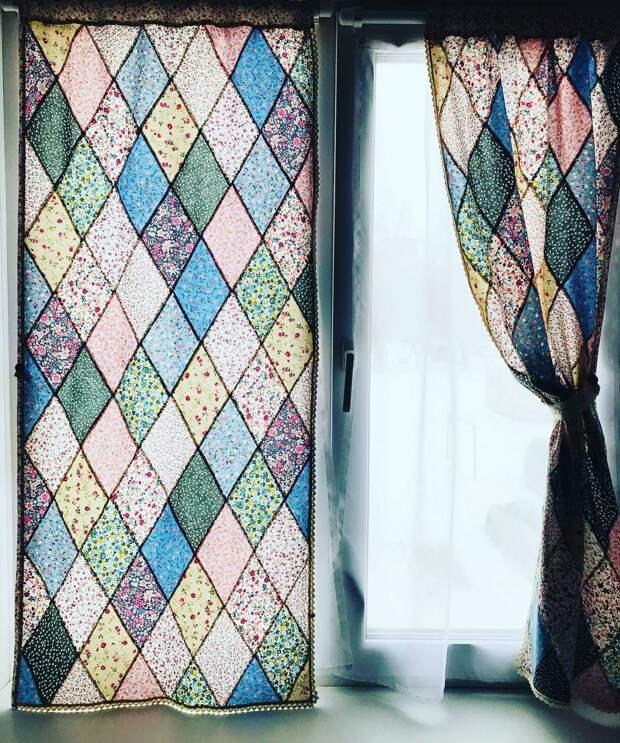 Лоскутные шторы
