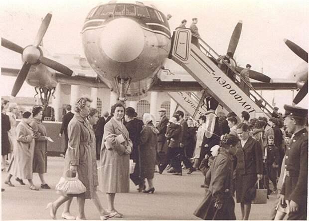 ВДНХ. 1959 год Москва