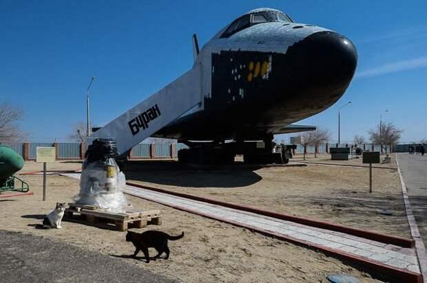 Разрисованный вандалами корабль «Буран» поместят в музей космонавтики