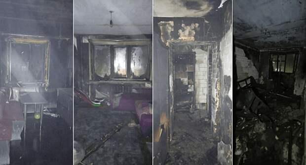 Погибшие при пожаре в Павлодаре были обнаружены на разных этажах подъезда