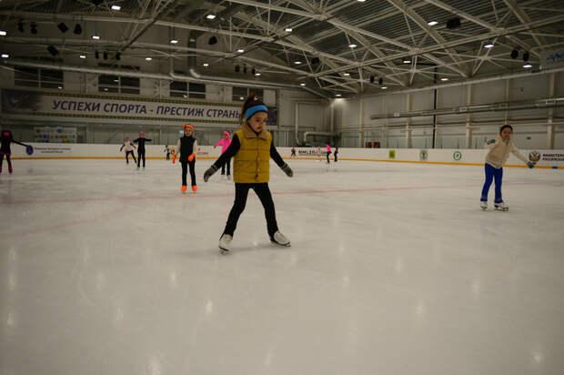 На острие конька. Материал «СА» о работе секции фигурного катания на Ледовой арене «Оштен»