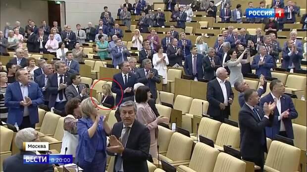 А что все эти аплодирующие делают в Госдуме?!