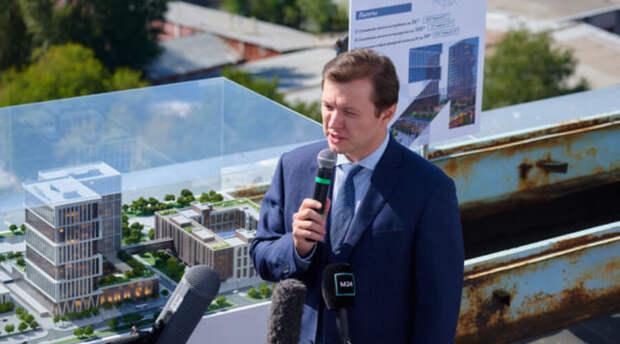 Заммэра Владимир Ефимов: В первом квартале 2021 года объём промпроизводства Москвы вырос почти на 12%