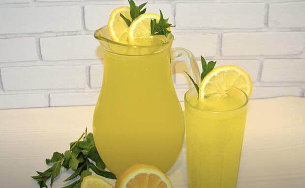 Домашний лимонад по рецепту из турецкого отеля: на 2 литра уйдет всего 1 лимон и 1 апельсин