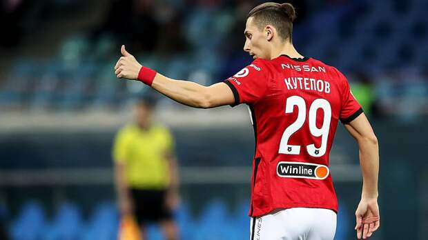 Букмекер оценил шансы Кутепова забить в матче «Зенит» — «Спартак»