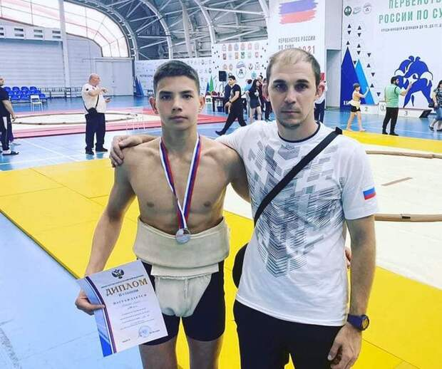 Севастопольский сумоист завоевал «серебро» первенства России