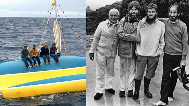 Как 4 моряка выжили 118 дней в открытом море без воды и еды? Контрабандисты или потерпевшие?