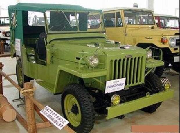 Toyota Jeep BJ 1951-1955 honda, suzuki, toyota, авто, автоистория, автомобили, япония, японские автомобили