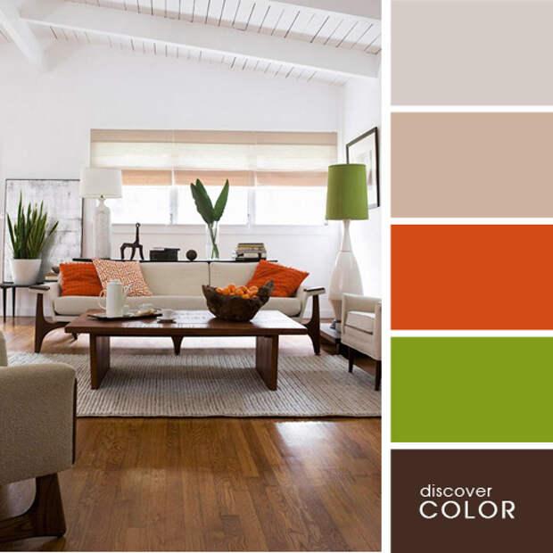 Идеальные цвета для вашего дома. Сочетаем правильно и со вкусом!