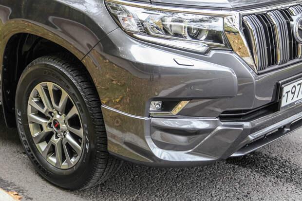 Тест-драйв: Toyota LC Prado TRD