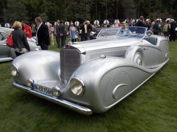 Mercedes-Benz 540K модернизированный