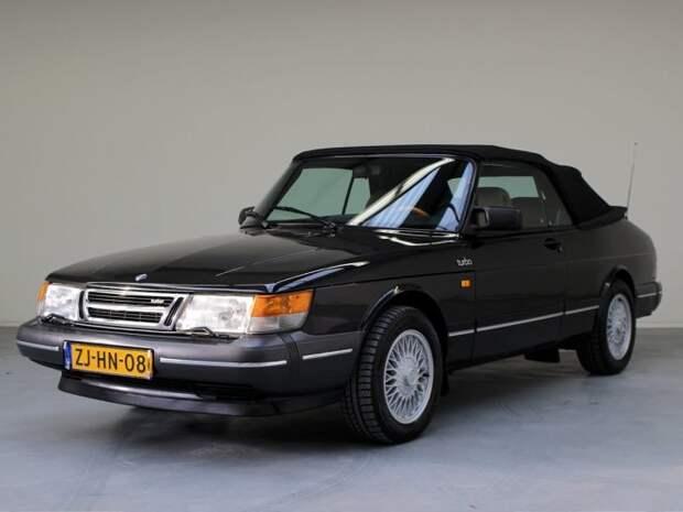 Saab 900 Turbo стал первым массовым автомобилем с турбонаддувом. | Фото: yandex.net