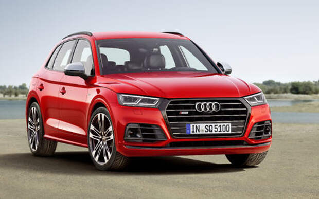 Audi SQ5 променял «мясорубку» на «улитку»
