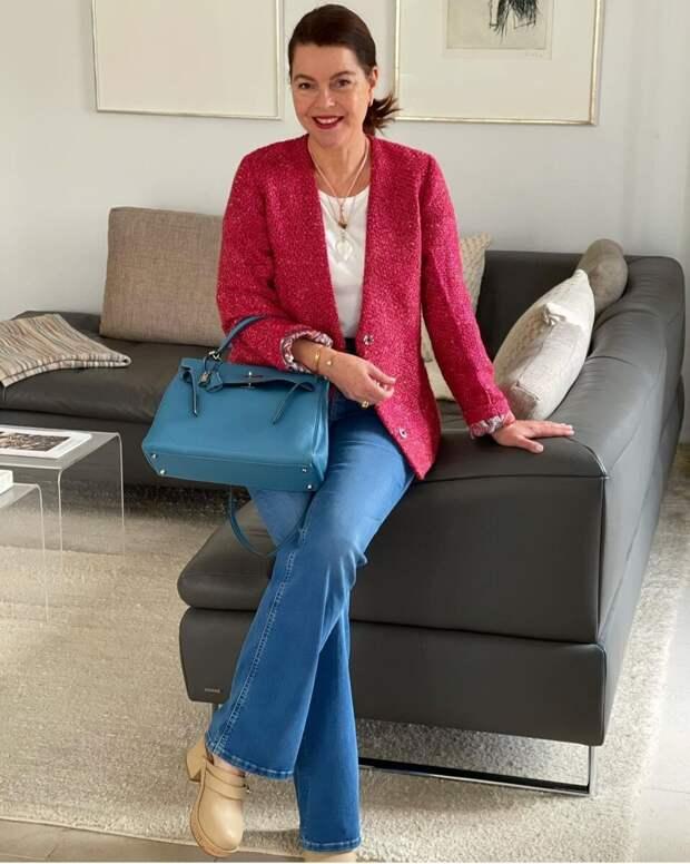 Твидовый жакет – тренд, который будет в моде ещё несколько сезонов: какой выбрать, с чем носить