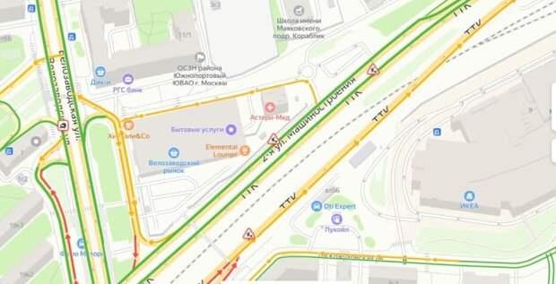 Дорожные работы на Велозаводской эстакаде продлятся до 19 июля