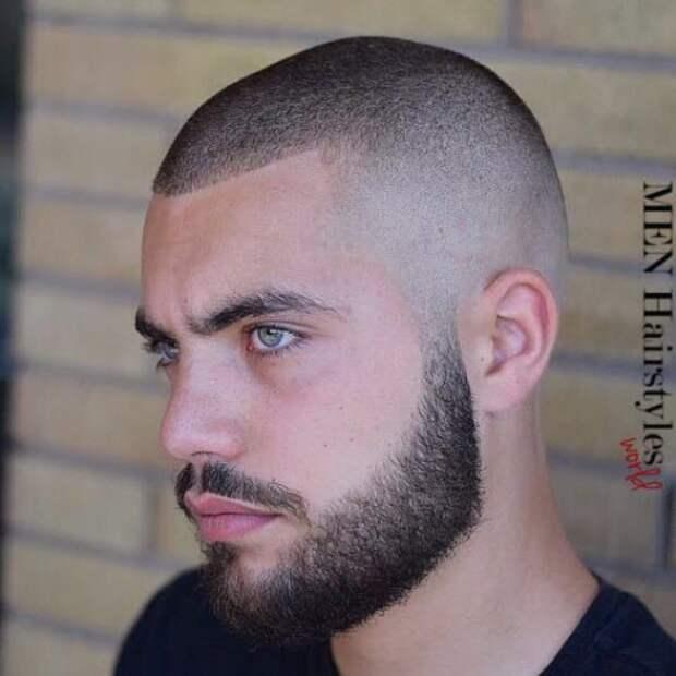 Мужские стрижки для редких волос