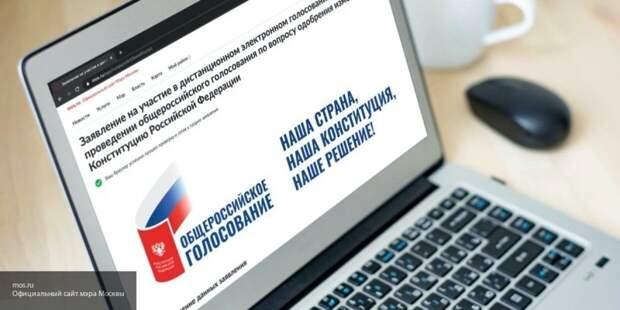 Плуготаренко назвал комфортным и безопасным метод онлайн-голосования по поправкам