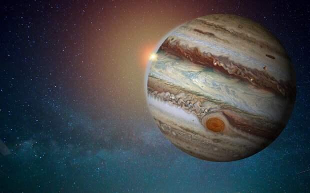 Россияне смогут увидеть великое соединение Юпитера и Сатурна