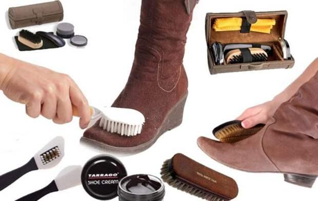 Обувь из замши: советы по уходу
