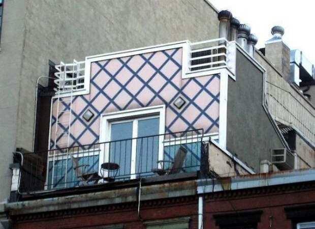 5. Розовый дом в Нью-Йорке дом, интересное, подборка, факты