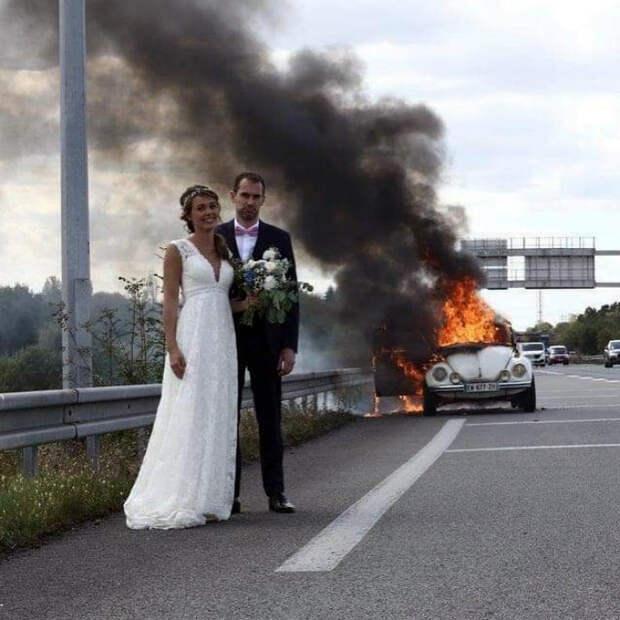 Счастливый день свадьбы. | Фото: Instagiz.