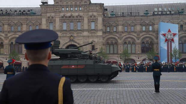 На Красной площади начался военный парад в честь Победы в Великой Отечественной войне