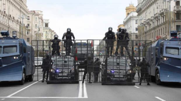 Глава МВД Беларуси назвал белорусских силовиков самыми гуманными в мире