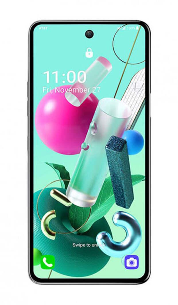 Анонсирован недорогой 5G-смартфон LG K92 5G с необычным дизайном