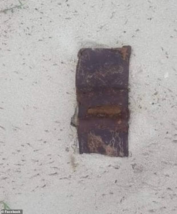 Австралийцу вернули бумажник, потерянный им26 лет назад напляже