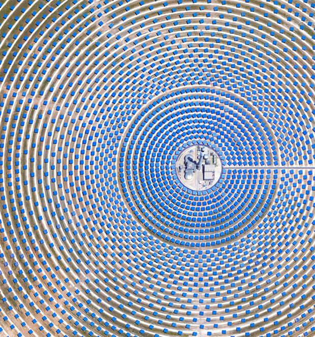 5. Севилья, Испания фото со спутника, фотограф Бенджамин Грант, фотографии