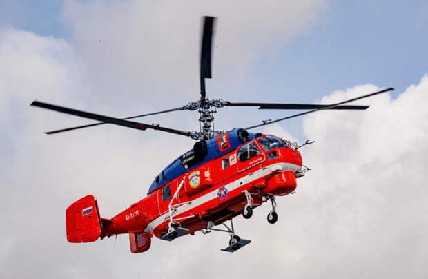 Воздушный пожарный: на МАКС-2021 будет презентован вертолет Ка-32А11М