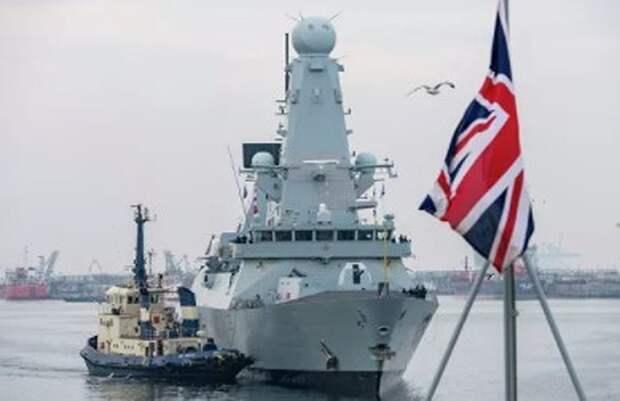 Силы ВМФ России следят за военными кораблями Британии и Нидерландов в Черном море