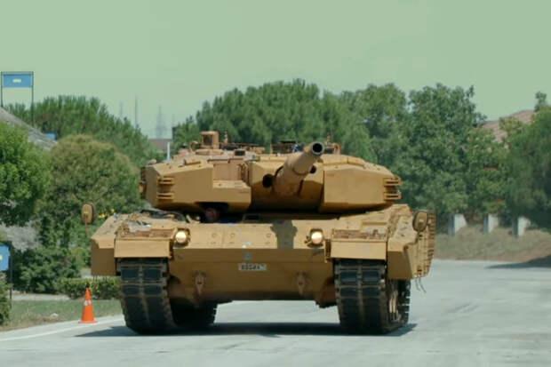 Турецкие Leopard 2A4 получили дополнительную защиту от ракет и гранат
