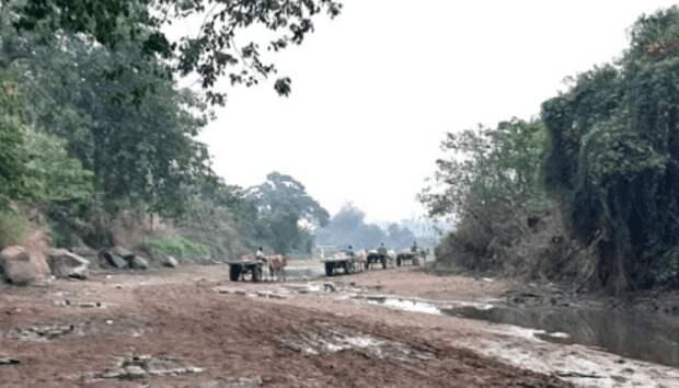 В Индии исчезла еще одна большая река. Процесс пошел