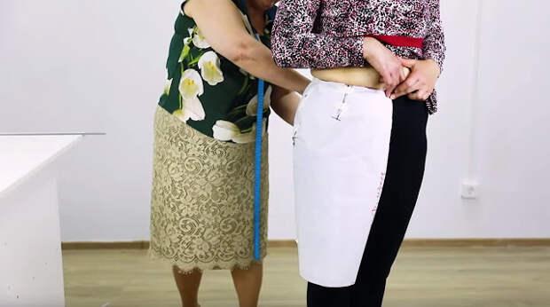 Как сделать выкройку юбки методом макетирования на нестандартную фигуру