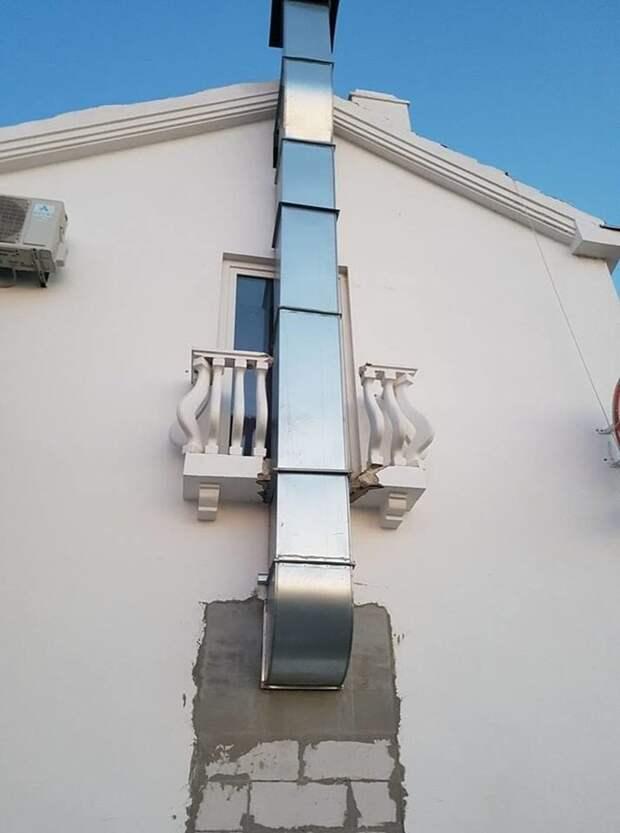 14. Зато балкончик милый горе-мастера, ошибки, провалы, своими руками, смешно, строители, фото, фэилы