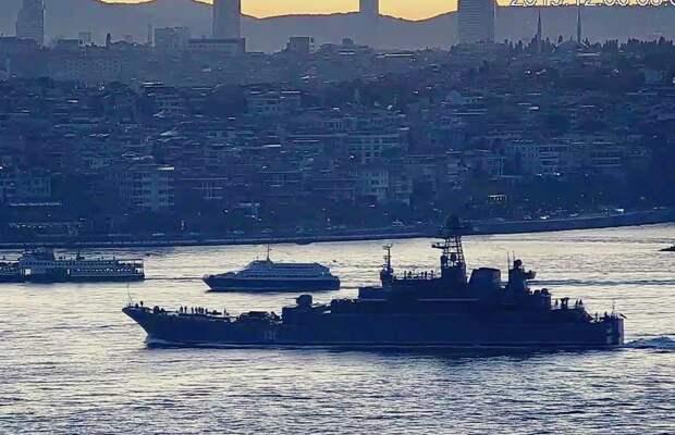 Отряд кораблей Балтийского флота РФ совершил заход в порт Тартус