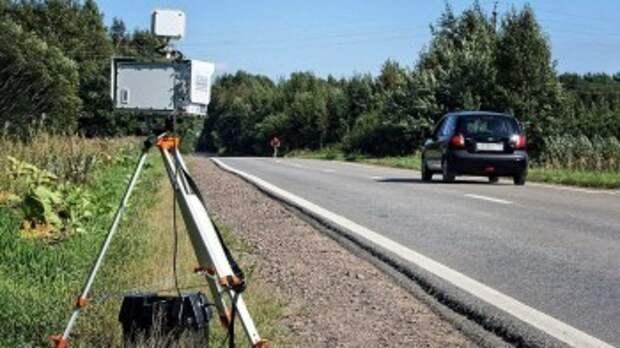 Расстановка мобильных камер в Калужской области на 23 сентября