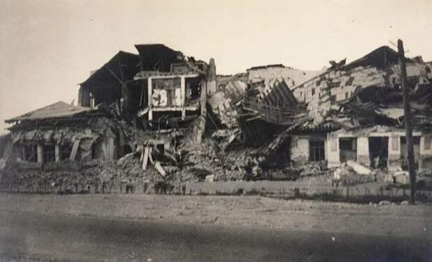 Ашхабадские улицы после землетрясения./Фото: avatars.mds.yandex.net