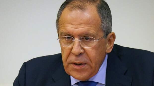 Лавров: Россия и Белоруссия встревожены линией Евросоюза