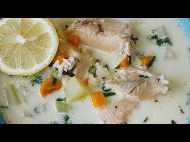 Замечательный Рыбный суп со сливками