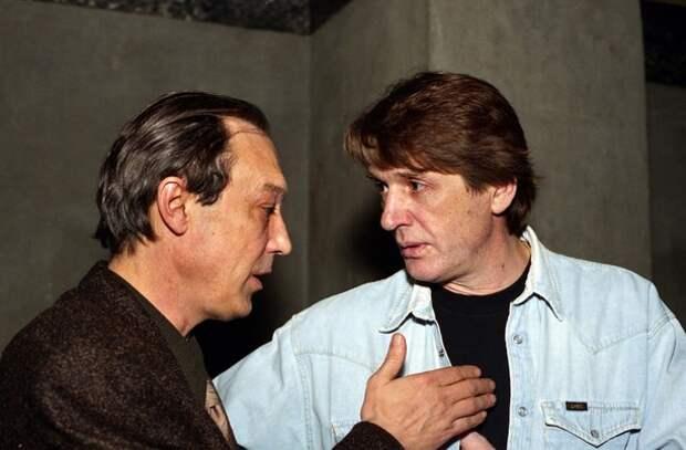 Александр Абдулов с Олегом Янковским