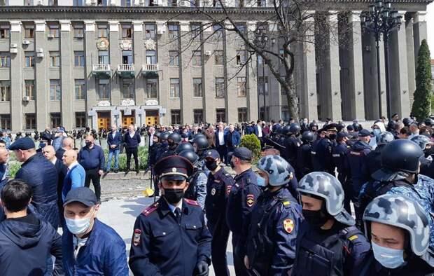 5 главных фактов о митингах во Владикавказе против карантина