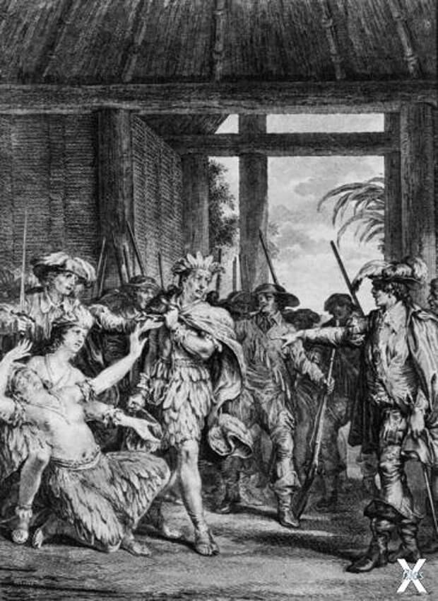 Взятие Атауальпы в плен