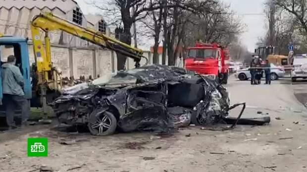 Разбившиеся в Новочеркасске подростки гнали со скоростью 160 км/ч