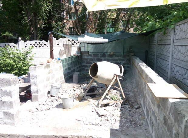 Летняя кухня за 80 дней своими руками, сделай сам
