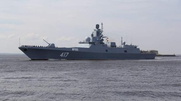 Фрегат «Адмирал Горшков» проведет финальные испытания ракет «Циркон»