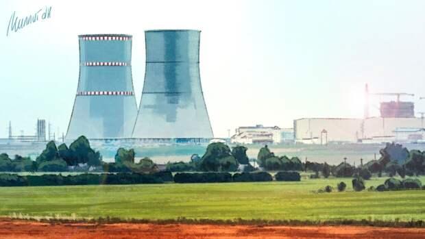 """Белорусская АЭС пугает Литву повторением """"Чернобыля"""""""