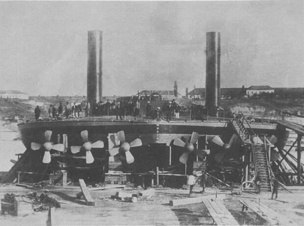 Плавающие тарелки: круглые броненосцы контр-адмирала Попова